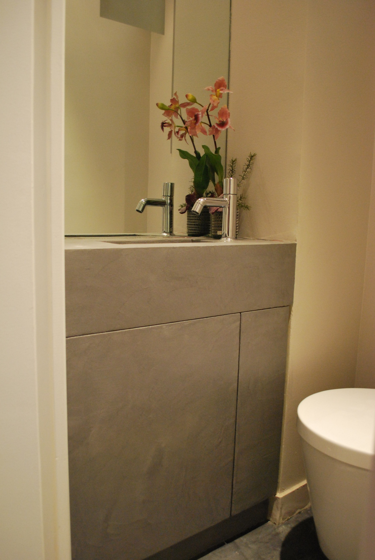 Salle De Bain Toilettes ~ salle de bain wc b ton luxe
